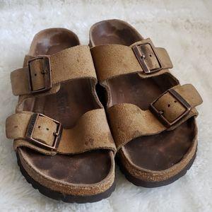 Birkenstock soft footbed leather Sandal